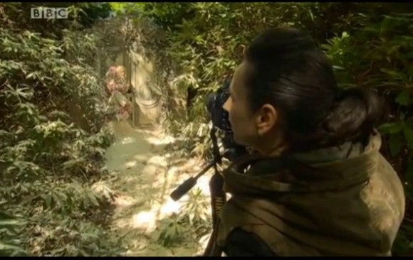 BBC News Feature on Kirsty Mitchell and 'Wonderland' 2013