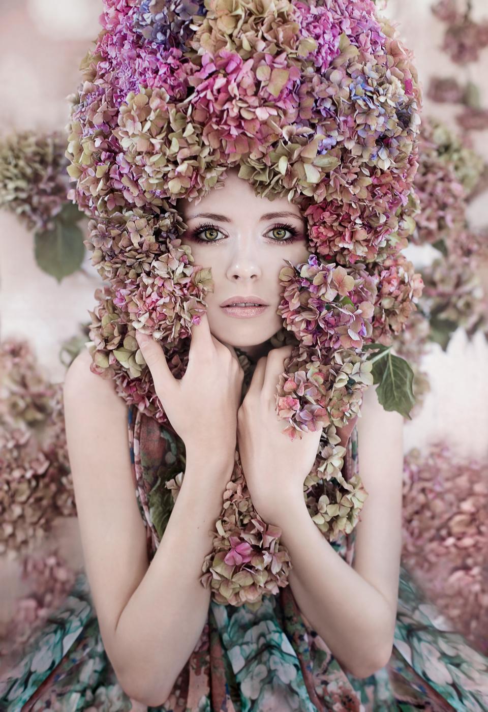 Hydrangea Girl
