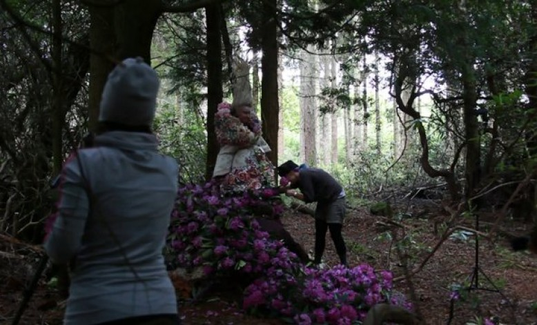 Video: Rough behind the scenes footage from 'The Last Dance Of The Flowers' (part of the Wonderland series)