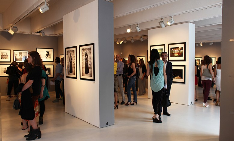 'A Glmpse at Photo Vogue' opening, group show, Milan June 2013