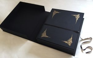 box with portfolio case