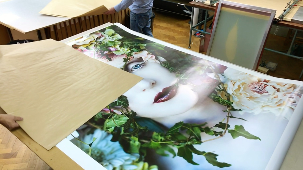 Print Preparation For The Paine Art Museum Exhibition